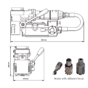 BroachCutter AIRMAG® 35H | Ø35mm X 25mm