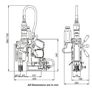 BroachCutter AIRMAG® 45 | Ø45mm X 50mm